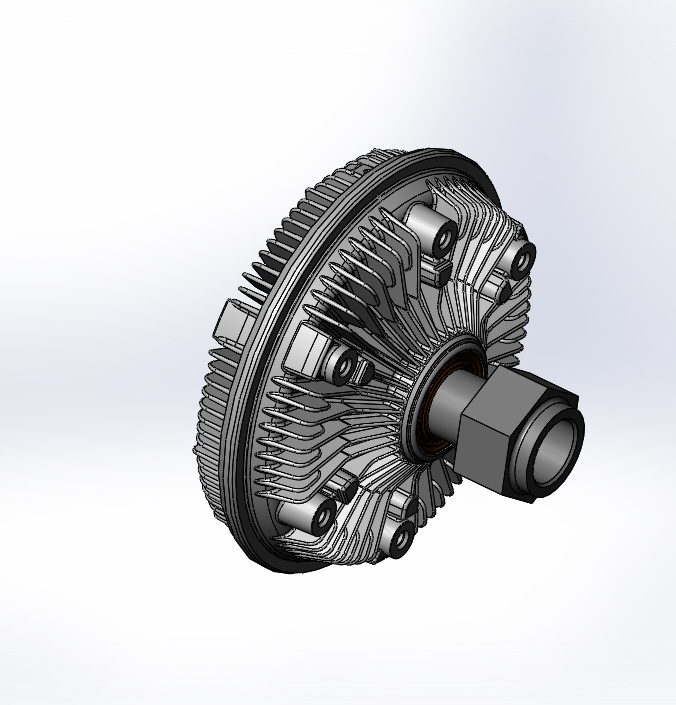 010020914 750 Viscous Fan Clutch