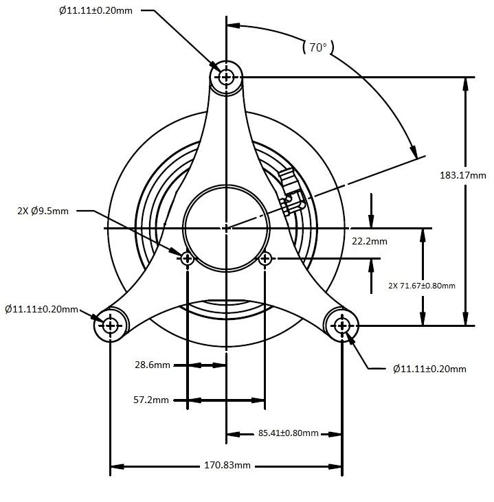 010021943 Engine Cooling Fan Hub