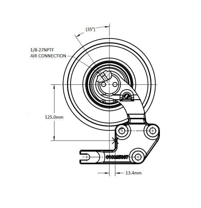 010022997 Engine Cooling Fan Hub
