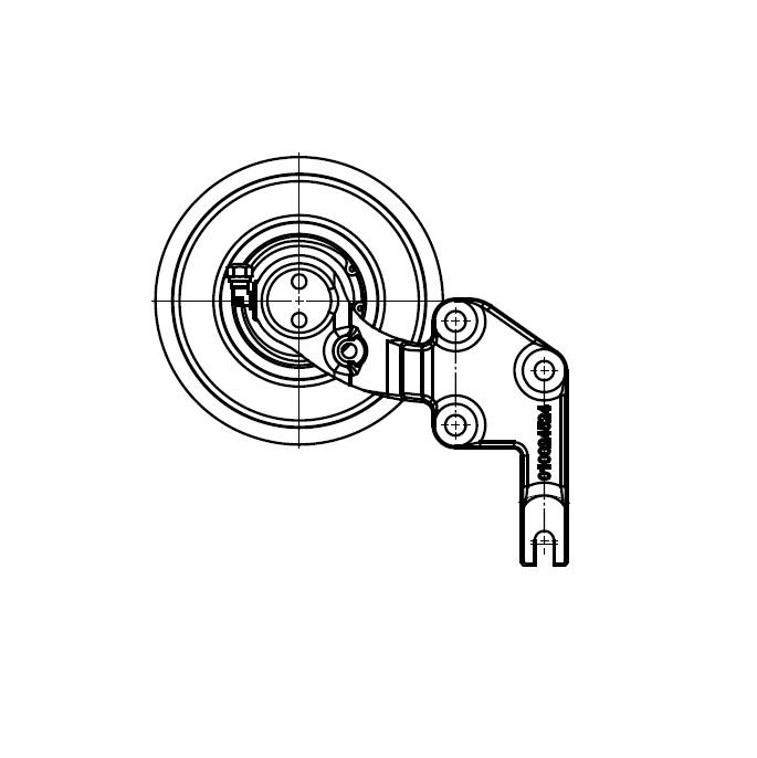 010023441 Engine Cooling Fan Hub