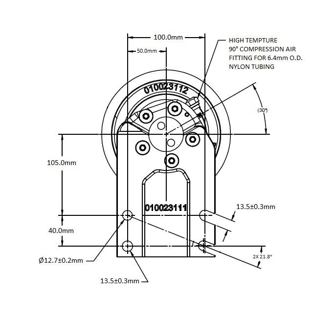 010024224 Engine Cooling Fan Hub