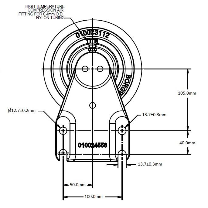 010024552 Engine Cooling Fan Hub