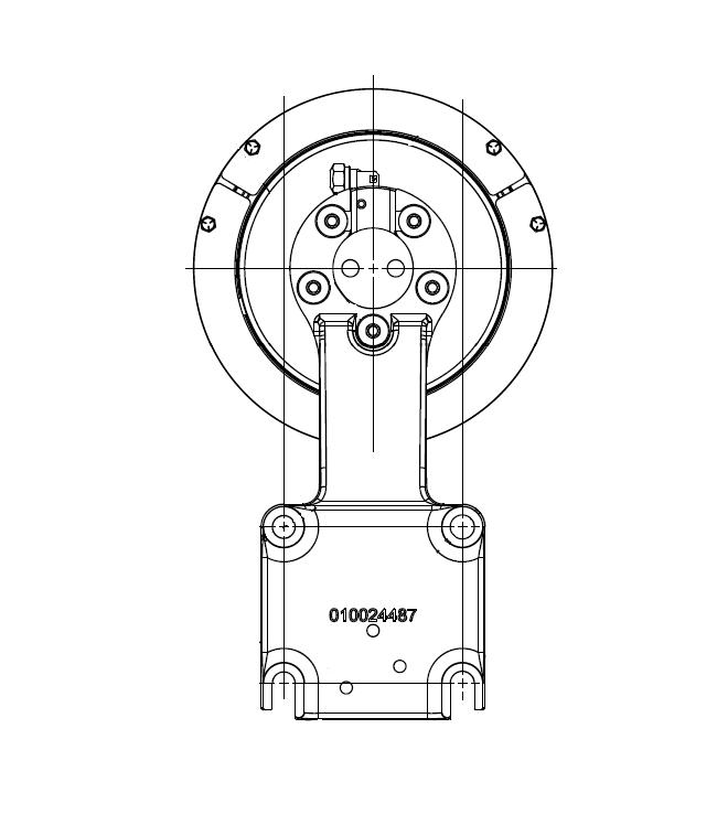 010024635 K32 Rear Air Fan Drive Assembly
