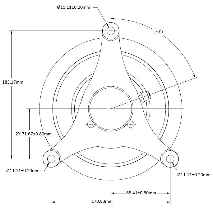 010027575 Engine Cooling Fan Hub