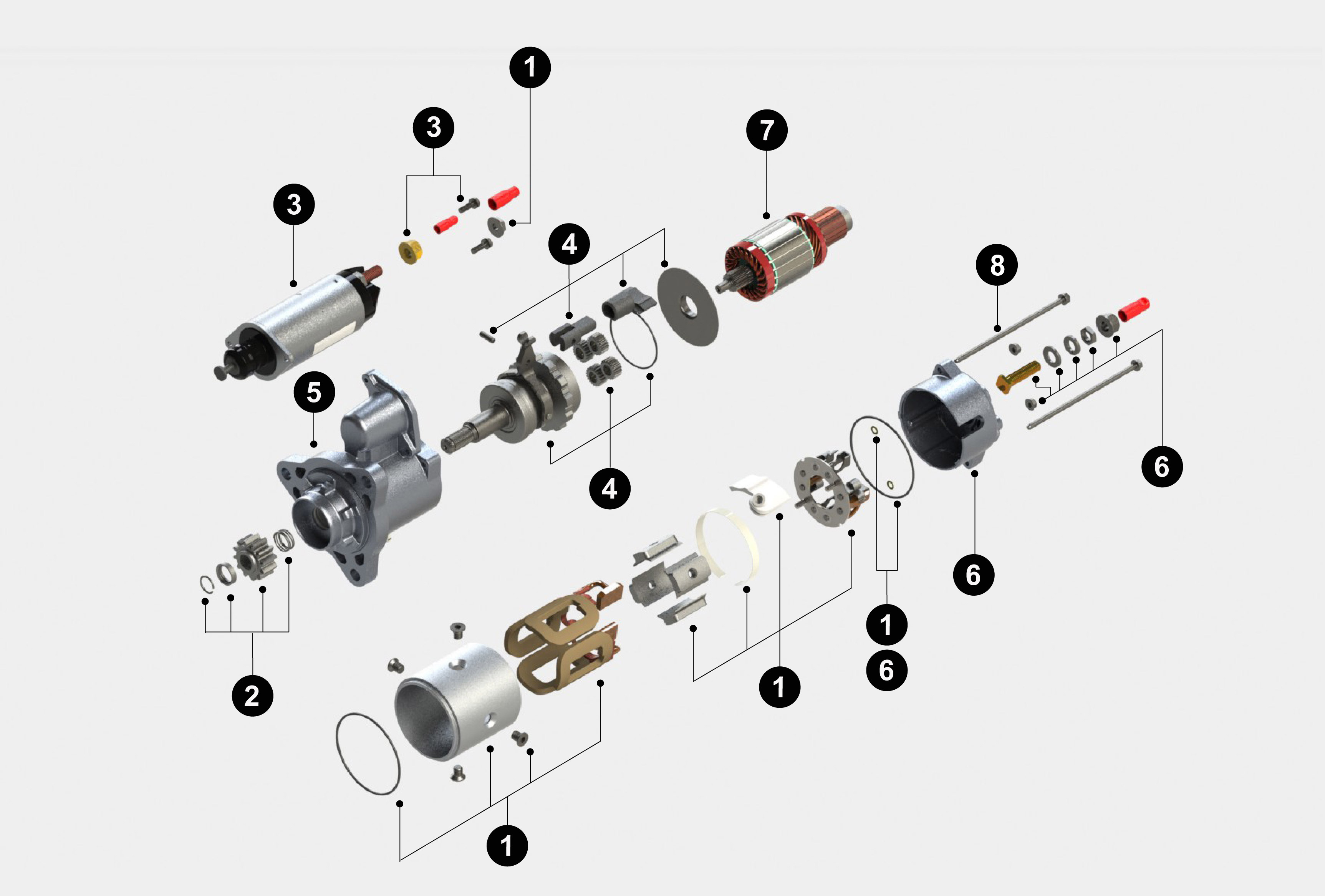delco remy distributor parts diagram